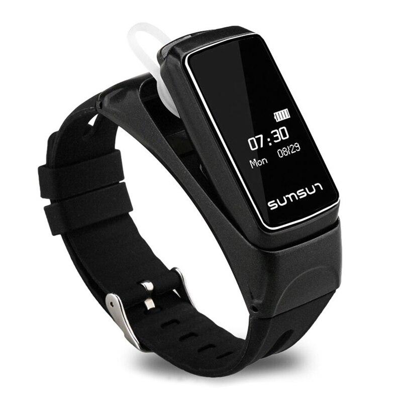 Smartwatch bt умный браслет bluetooth-гарнитура наручные часы.