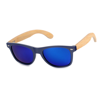 BOBO BIRD Bamboo Retro Polarized Wooden Sunglasses