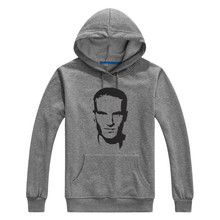 New 2016 legend Dennis Bergkamp Printed Men Sweashirt Women hoodies 10152004
