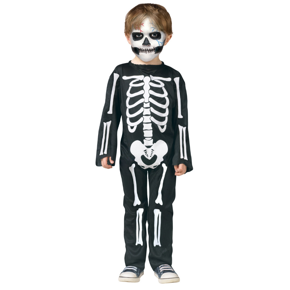 Children Halloween Skull Skeleton Costumes Carnival Kids Devil Ghost Horror Clothing Masquerade Party Costume