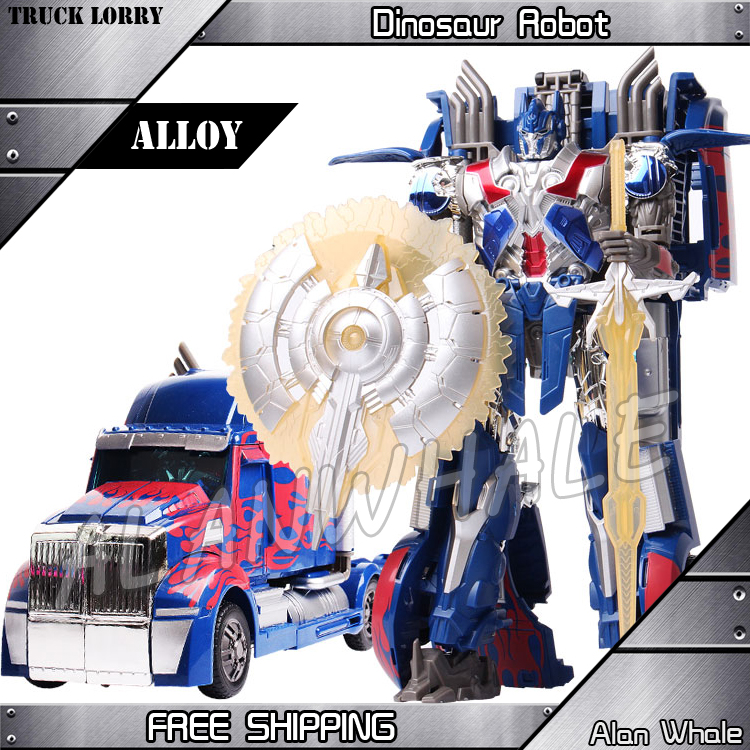 ФОТО 31cm New Mechanical Transformation Alloy ABS Plastic L Size Class Action Figures Movie Model Toys Voyager Robots