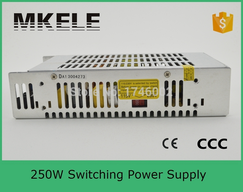 Low cost metal case power supply 250W 27V 9A Single Output Switching power supply for LED Strip light AC-DC S-250-27 with CE отсутствует metal supply