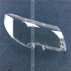 2шт Автомобильный корпус фары для SKODA Superb корпус фары прозрачная стеклянная крышка 09-13 крышка фары