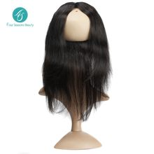 Brazilian Virgin Hair Straight Hair 360 Lace Frontal Closure 2016 New style Human Hair Free Shipping Brazilian Straight Hair
