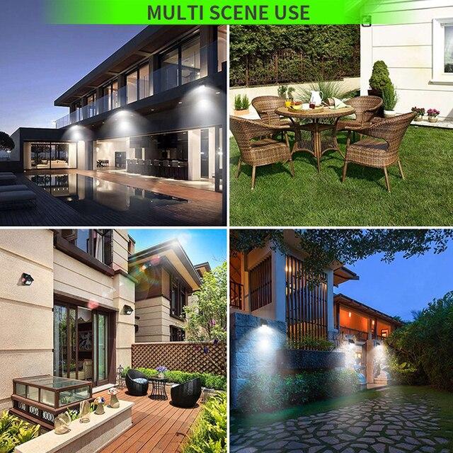 LED Solar Power Street Light Motion Sensor Lamp Outdoor Waterproof Wall Lights Decoration Lighting Pathway  Balcony illumination