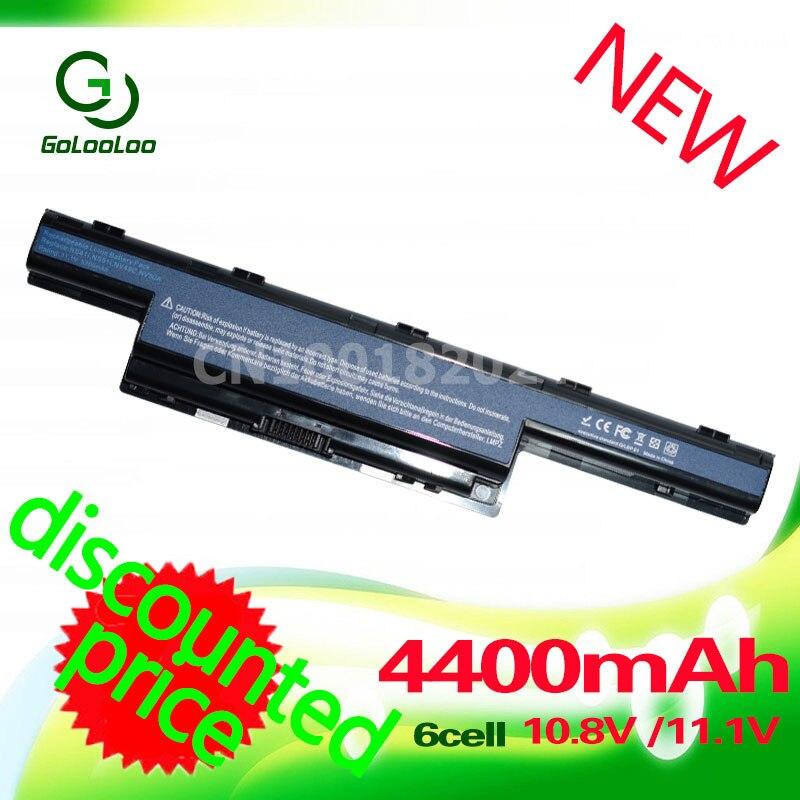 Golooloo de batería de 11,1 v v3-571g para Acer Aspire AS10D31 AS10D81 AS10D51 AS10D71 v3 771g AS10D75 4741G as10d41 4741 5750G AS10D61