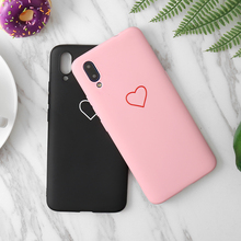 High Quality Love Heart TPU Silicone Case For Vivo V15 Pro V3 V5 V7 V9 MAX Nex Z1 X20 X21 21i x21S X23 X27 Plus IQOO fingerprint