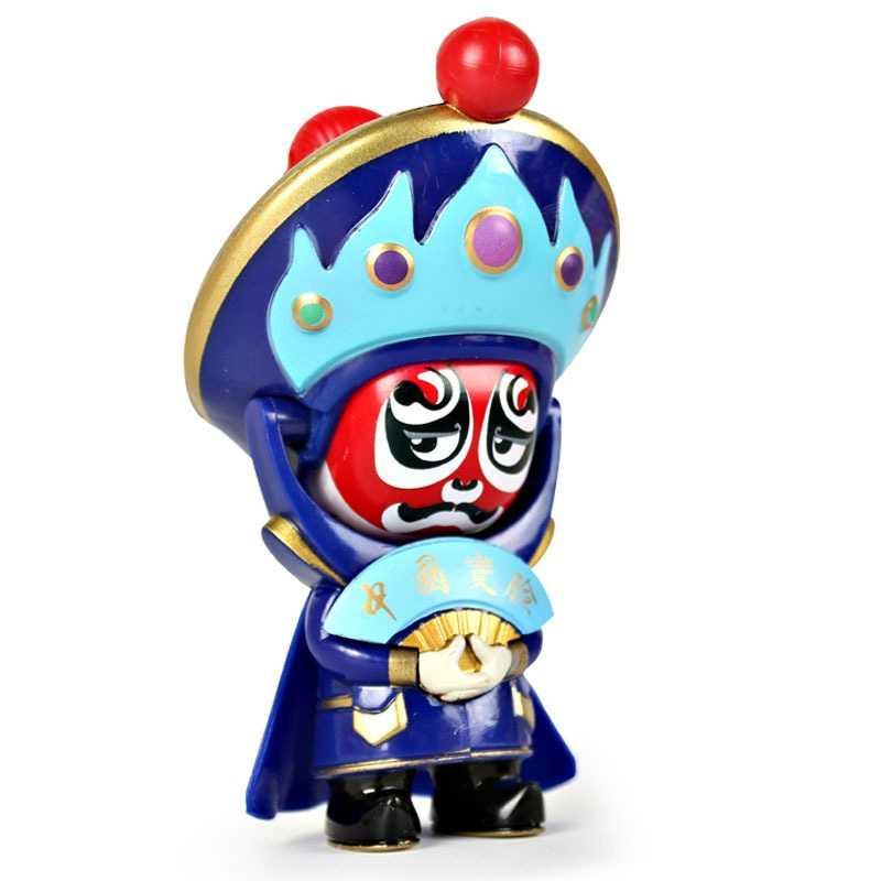 ตัวเลขการกระทำจีนละคร Face-เปลี่ยนตุ๊กตาเดสก์ท็อปพวงกุญแจวันเกิดของขวัญของขวัญของเล่นเด็กสามารถเปลี่ยน 4 หน้าประเภท