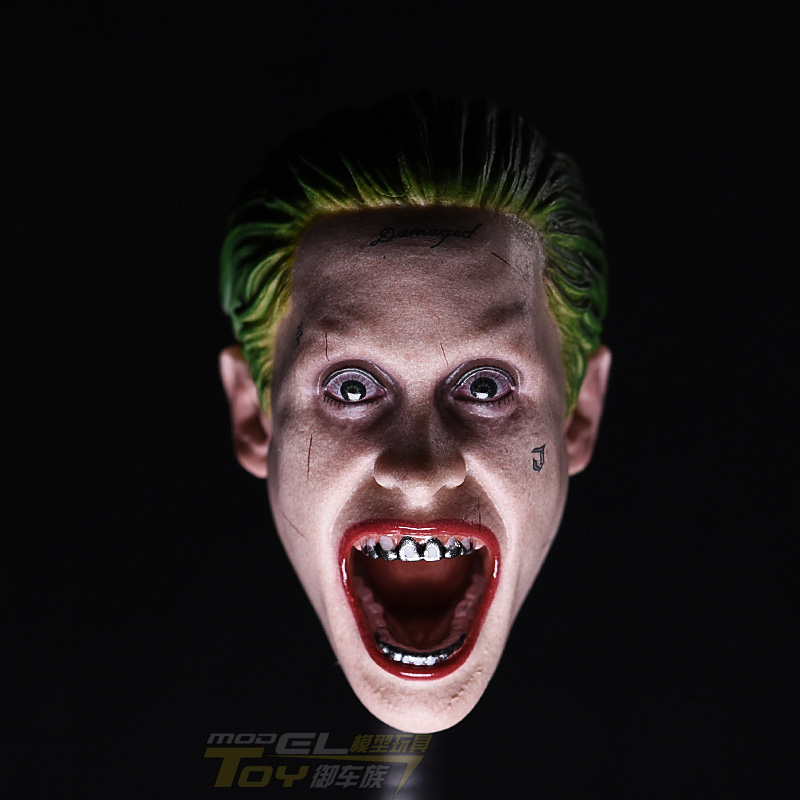 1:6 Store Team Head Leto Joker Dutch Act clown Version HT DAM Head Sculpture Model цены онлайн