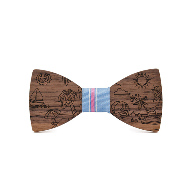 bfcfc6affed14 US $7.97 24% OFF|Novelty Children Wood Bowtie for Baby Boys Girls Bowtie  Kids Wooden Bow Ties Handmade Bowknots Formal Casual Necktie Cravat-in  Boy's ...