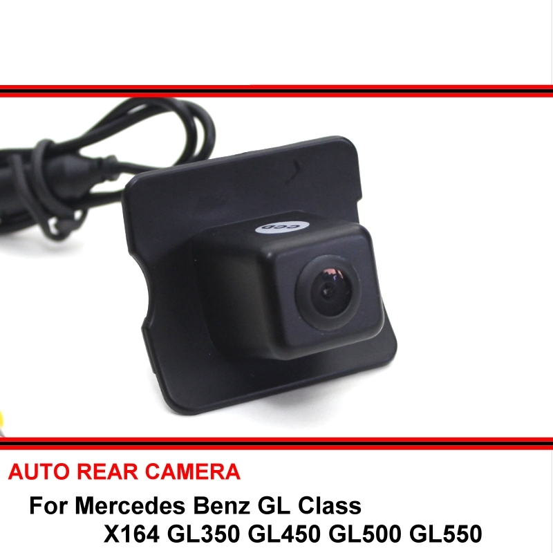 Reserved Hole For Mercedes Benz <font><b>MB</b></font> GL <font><b>X164</b></font> GL350 GL450 GL500 GL550 CCD HD Reversing Camera Car Parking Camera Rear View Camera image