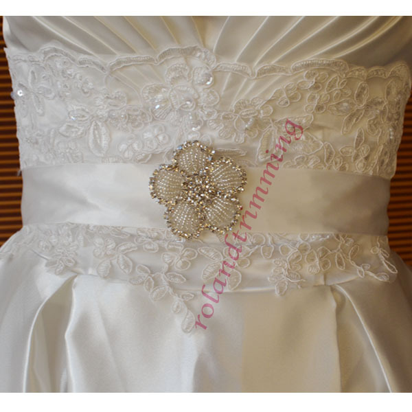 Wedding Dress Accessories Belt : New wedding dress accessories belt rhinestones sashes ra in belts