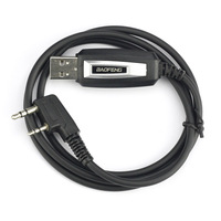 מכשיר הקשר דו דרך רדיו TK USB תכנות כבל Baofeng UV-5R BF-888S BF-5RC UV-3R BF-K5 X6 WLN KD-C1 מכשיר הקשר אביזרים (1)