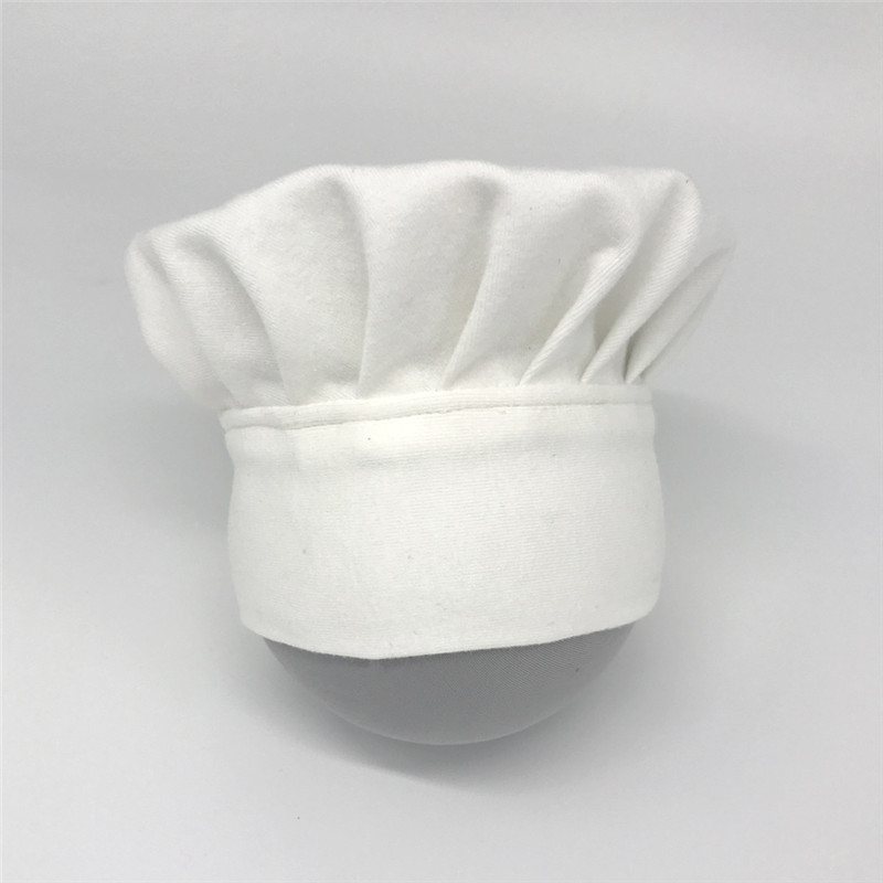 Chef Style Newborn Baby Photography Props Cotton With Hat /& Cloth Custome Cloth