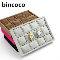 Watch Case Jewelry Display Tray For Store Jewelry Packaging Bracelet Organizer Stand Bangle Storage 5 Colors
