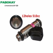 IWP189 28040161A New 12holes pink motorcycle bike fuel injector for Ducati Fuel Gas Petrol Injector Shower M-agneti M-arelli