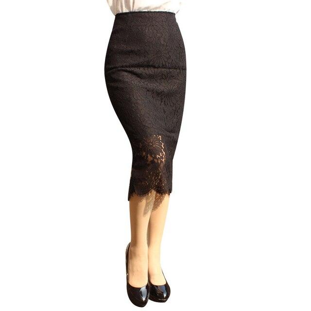 2018 пакета(ов) товара шаг юбка длинный мешок хип юбка кружева в Европе от имени Весна и осень женская одежда 7250