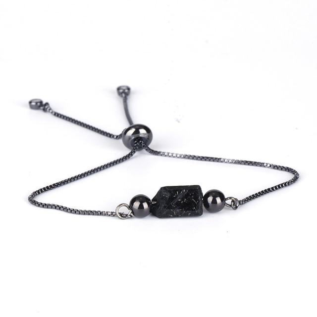 Bracelet Tourmaline Noire Femme