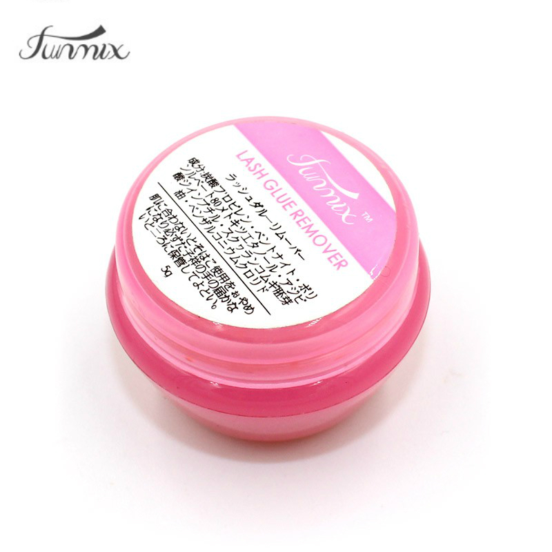 2017 Import New 5g Pink Proffesional Eyelash Extension Glue Remover Cream For Lashes Remover Makeup Tools