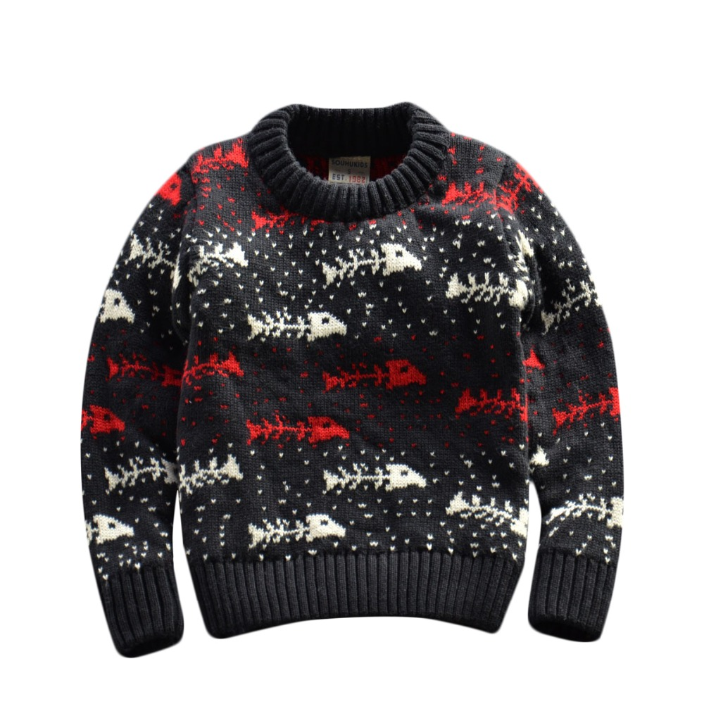 ФОТО Children Sweaters baby boys girl 100%Cotton warm sweater 2015 New Autumn winter Pullover Sweater kids clothing 2-7Y Good quality
