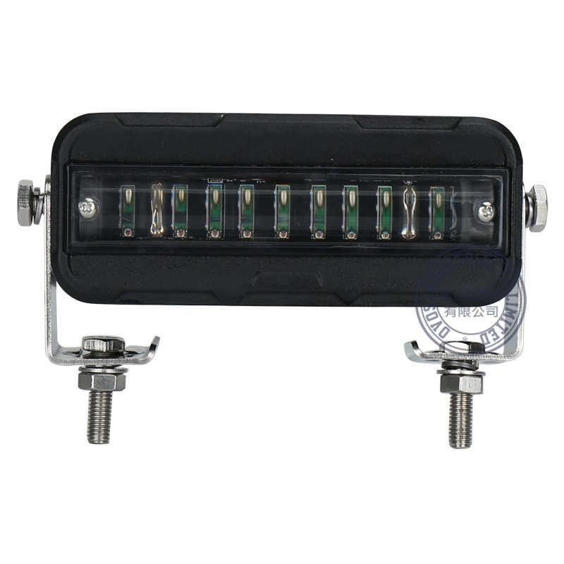 2 шт. световой индикатор для вилочного погрузчика красный или синий зоны склад пешеходный Предупреждение 12 до 60 в DC грузовик индикатор безопасности прожектор