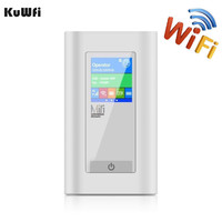 Car Wireless Modem 4G LTE Router 5200Mah Power Bank 3g 4G Router Dongle With Two SIM Card Slot RJ45 Port Work in USA/CA/Mexico