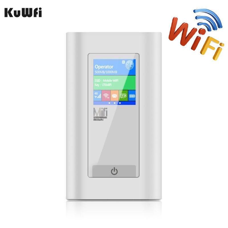 Voiture Sans Fil Modem 4g LTE Routeur 5200 mah Puissance Banque 3g 4g Routeur Dongle Avec Deux SIM fente Pour carte RJ45 Port Travail dans USA/CA/Mexique