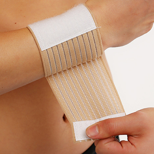 Elastic Cotton Wristbands for Fitness and Sports