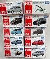 Alta calidad! TOMICA coche TOMY juguetes 1 : 67 coches miniaturas aleación de modelos de coche de juguete Diecast vehículo 5 unids/lote infantil chicos regalos de juguetes