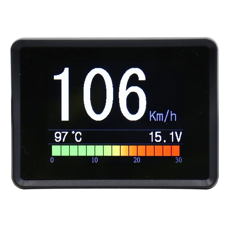 CXAT A203 Multi Functional Smart Car OBD HUD  Display