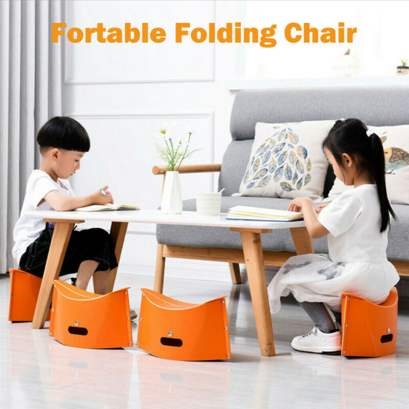 Outdoor Portable  Foldable Multifunction Stool Folding Beach Chair Fishing Stool Park Children Stool