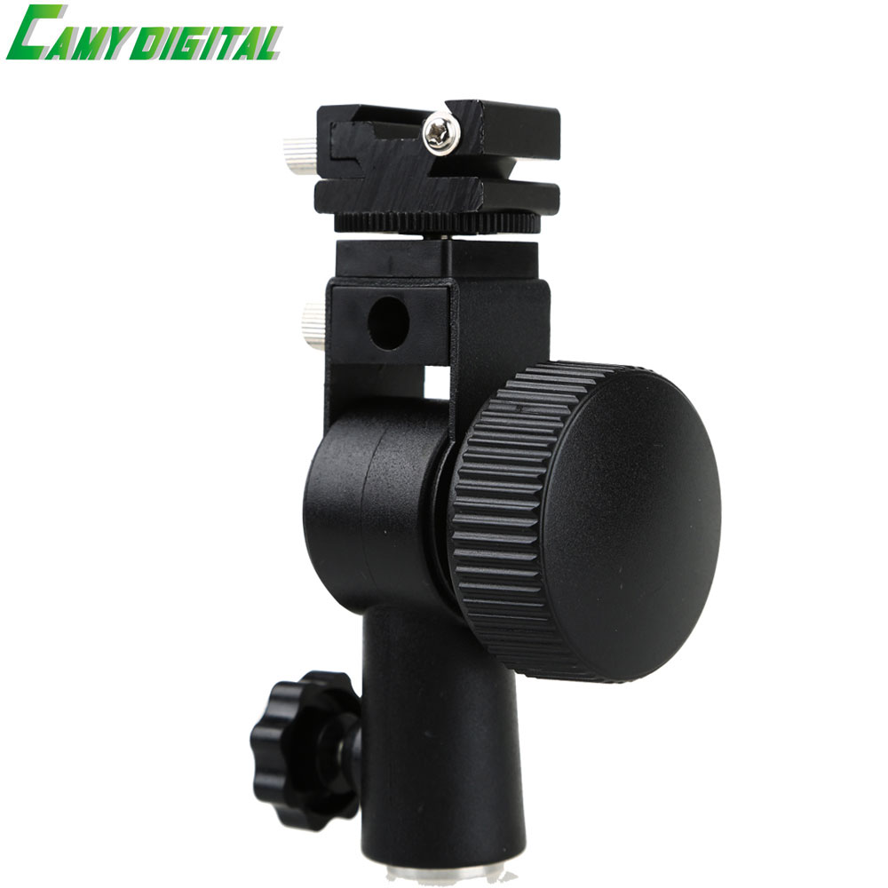 Type D Flash Hot Shoe Umbrella Holder Mount Bracket Universal For Camera Flash Speedlite