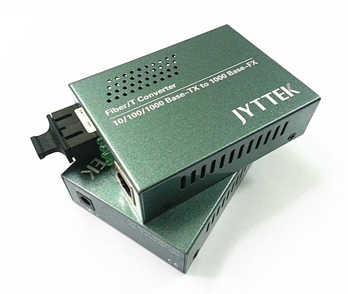 Gigabitowy jednomodowy konwerter światłowodowy z podwójnym - Sprzęt komunikacyjny - Zdjęcie 3