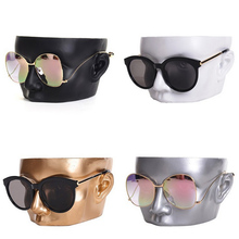 Hot Selling with High Level Craft 4 Colors Resin Glasses Holder Sunglasses Stand Jewelry Display Mannequin Fashion Nice Design