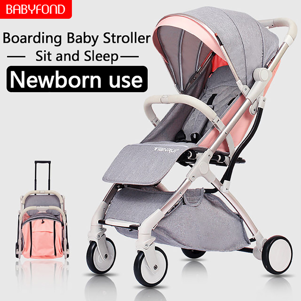 Original Super Light 6.9kg Baby Umbrella Stroller  Can Sit can Lie  Folding  baby stroller free Gifts baby free shipping