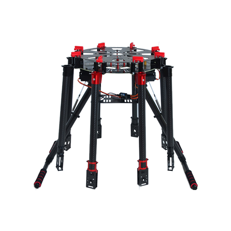 Folding S1200 rotor 8 shaft rack 8 shaft the uninhabited machine folding s 1200 rotor shaft professional grade uav rack shaft large frame for 8 axis rc airplane plane