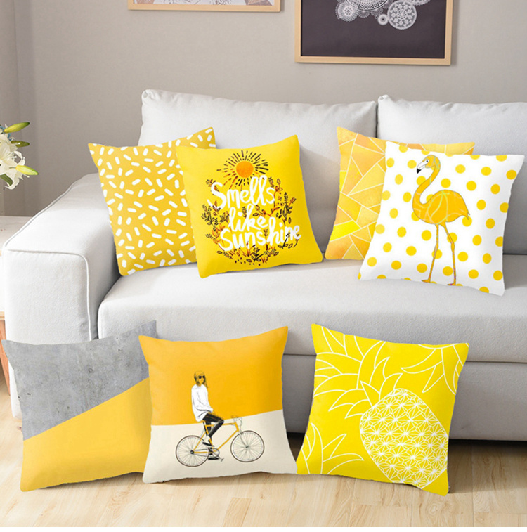 HTB1LoBVUXzqK1RjSZFoq6zfcXXad Christmas Pillow Coussin Cartoon Geometric Cushions Case Christmas Home Decorative Cushion For Sofa Xmas DIY Soft hug Pillowcase