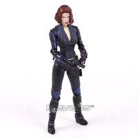 Black Widow Avengers 2 Natasha Romanoff PVC Action Figure Collectible Model Toy 15cm