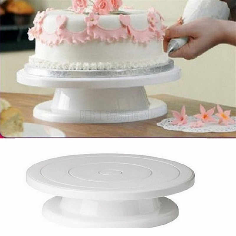 Detail Feedback Questions About 6pcs Set Plastic Cake Turntable