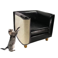 2019 Upgraded Cat Scratching Mat Sisal Sofa Shield Pet Furniture Cover Washable and Durable Cover to Prevent Scratch right side