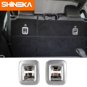 SHINEKA Interior Mouldings for Jeep Wrangler JL 2018 Up Tail Box Hook Cover For jl Accessories Car Styling