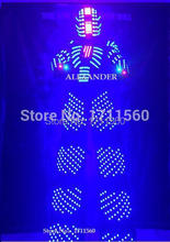 LED robot Costume /LED Clothing/Light suits/ LED Robot suits/ Alexander robot suit
