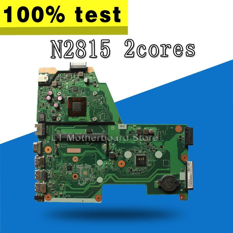 X451MA Motherboard N2815U For ASUS X451MA X451M F451M Laptop motherboard X451MA Mainboard X451MA Motherboard test 100% OK цена