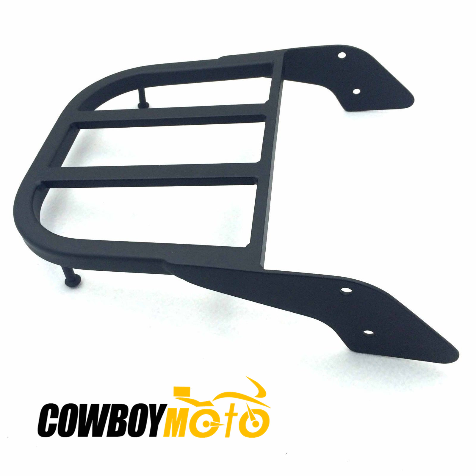 Motorcycle Black Sissy Bar Luggage Rack Carrier For Honda ACE 750 Spirit Aeri 1100 VLX 600 Sabre Magna Tourer