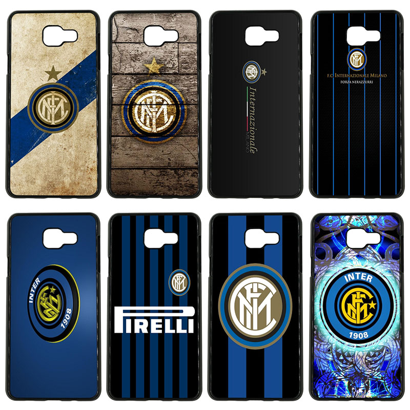 Inter Milan Italy Football Club Logo Cell Phone Case Hard Cover for Samsung Galaxy S8 S9 Plus S3 S4 S5 Mini S7 S6 Edge Plus Case