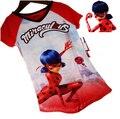 2017 Summer Miraculous Ladybug Girls Dress Party Princess Dress Miraculous Ladybug Clothes Children Miraculous Clothing Ladybug