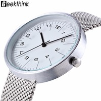 2016 GIMTO Fashion Men S Leather Watches Top Brand Luxury Quartz Wrist Watch Men Waterproof Clock