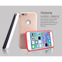 Hot Selling NILLKIN Victoria Leather Back Case Cover For Iphone 6 And Iphone6 Free Shipping