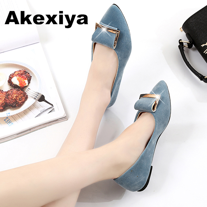 Akexiya Sexy Women Shoes Fashion Shallow Mouth High Heels Fine With Pointed Woman Pumps 5cm tenis feminino Mary Janes new fashion thick heels woman shoes pointed toe shallow mouth ankle strap thick heels pumps velvet mary janes shoes