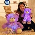 Плюшевые LED Лаванды медведь Фиолетовый медведь светящиеся плюшевые игрушки мишка кукла подарок на день рождения девочки